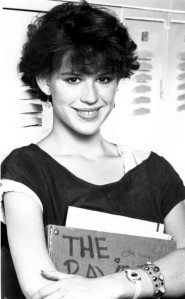 Molly Ringwald in Sixteen Candles